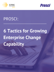 6 Tactics for Growing Enterprise Change Capability