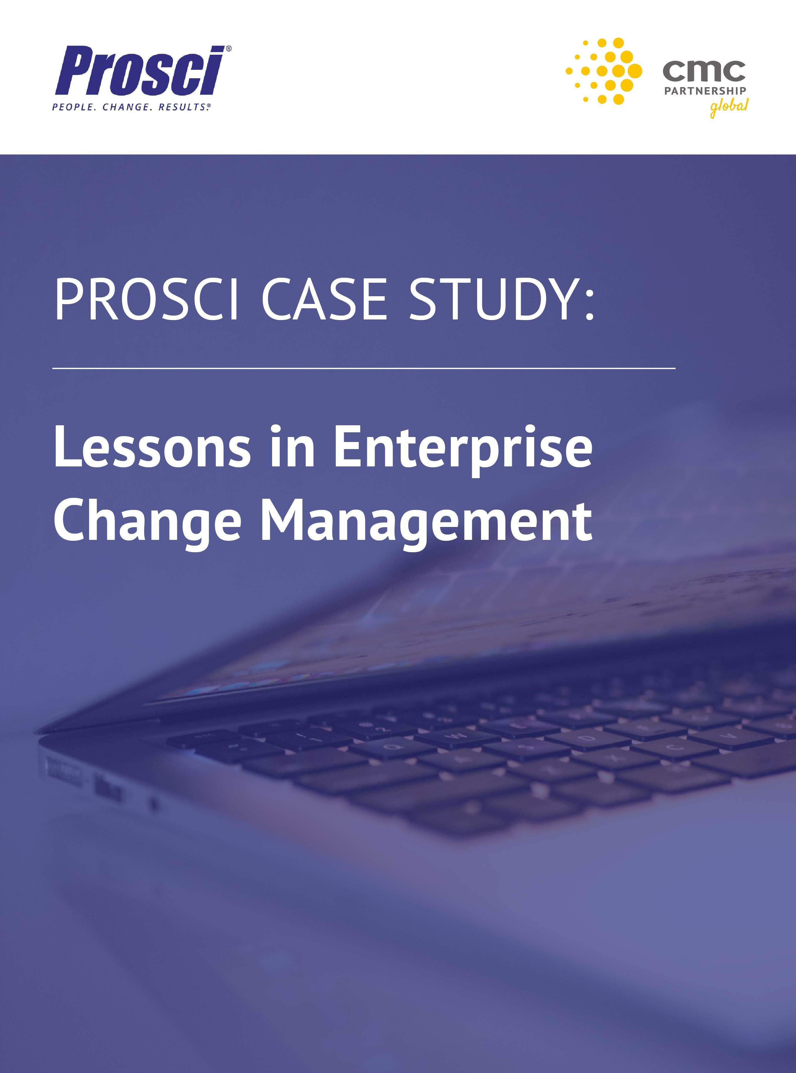 Prosci Case Study 1