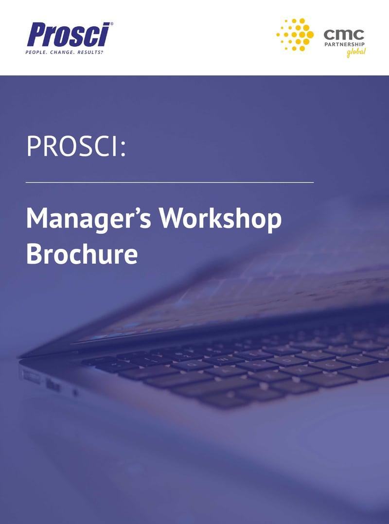 Manager's Workshop Brochure 1